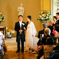 wedding ceremony photograph at Goodwood House