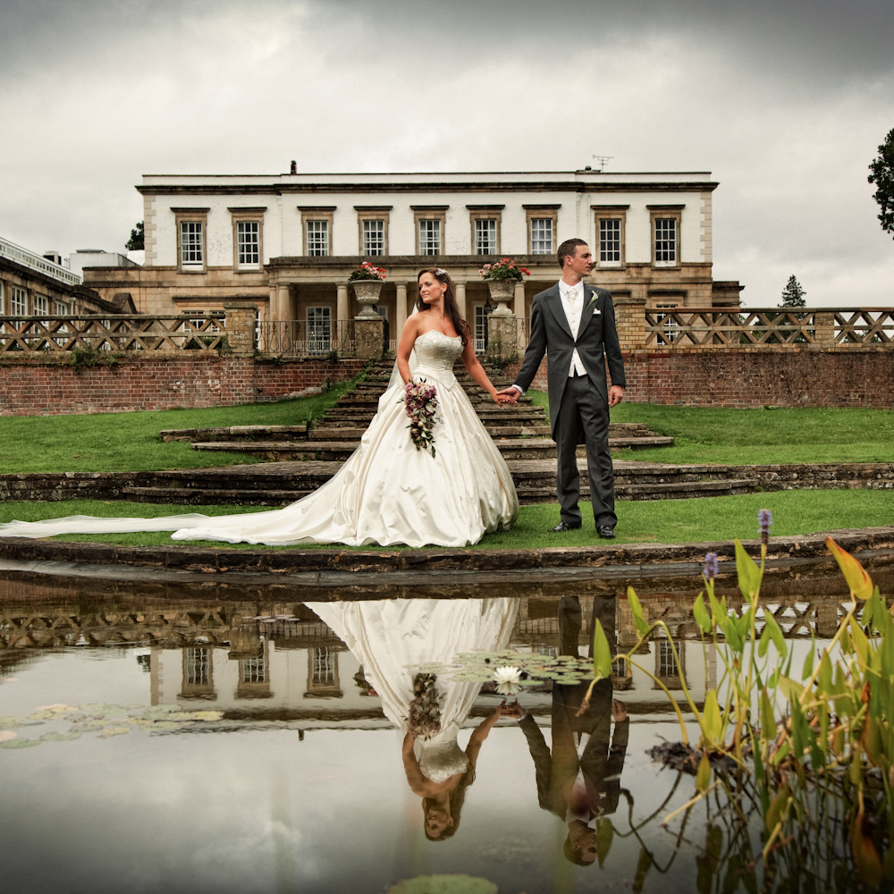 wedding photography at Buxted Park Hotel