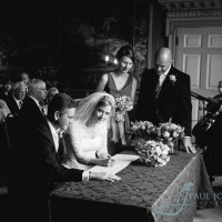 signing the register, civil wedding
