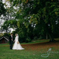 clandon park bride and groom photo