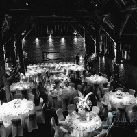cooling castle barn reception room set up