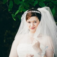 bride head portrait