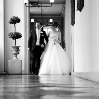 gosfield hall wedding photo
