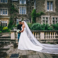 bride & groom portrait wedding photography at south lodge hotel sussex