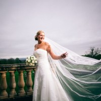 modern bride portrait wedding photography at south lodge hotel sussex