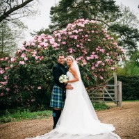 spring wedding photography at south lodge hotel sussex