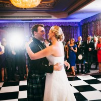 wedding photography first dance at south lodge hotel sussex