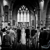 wedding photograph at wiston house in sussex