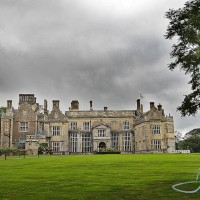 a photo of the main house, wiston house in sussex