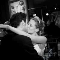 first dance wedding photo at the Sculpture Gallery in Woburn