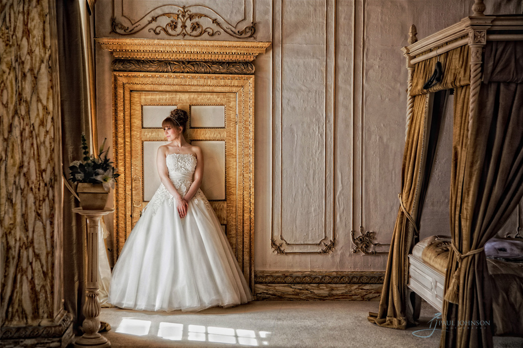 The bridal suite at Gosfield Hall, Eseex