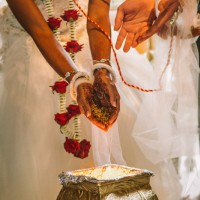 Hindu traditions during the wedding ceremony