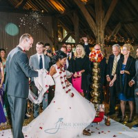 Mixed culture wedding