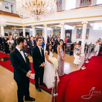 Greek wedding ceremony in London