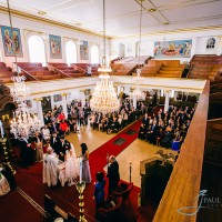 Greek wedding ceremony in London , from gallery