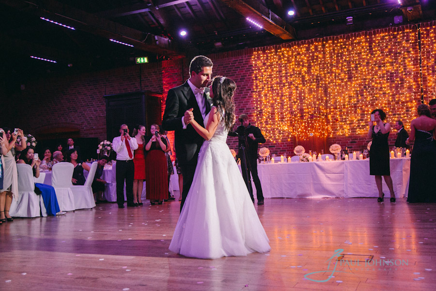 Greek Wedding Photography At The Brewery City Of London