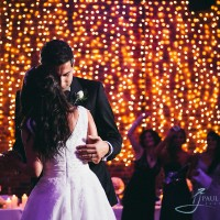 Bride & groom's first dance at a greek wedding