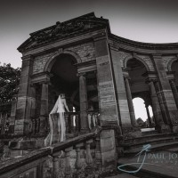 The Loggia wedding photo Hever castle