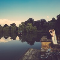Hever Castle 38 acre lake wedding